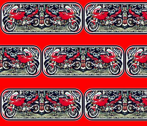Vrrrroooommmm! fabric by robin_rice on Spoonflower - custom fabric
