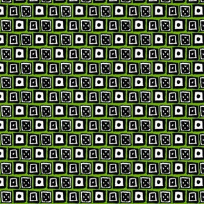 Doodle Boxes - Green