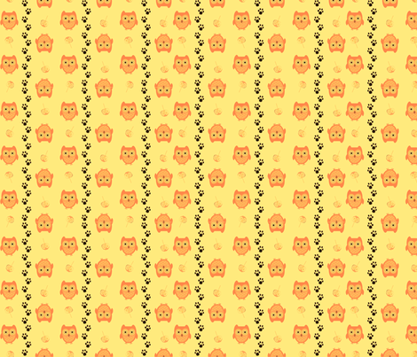 owl2-ed fabric by andsewon on Spoonflower - custom fabric