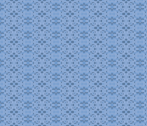 Very Geometric in blue © Gingezel™ 21011 fabric by gingezel on Spoonflower - custom fabric