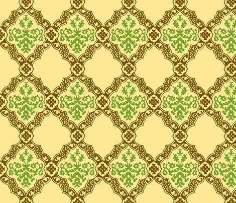 Granny's Garden  fabric by madeleine13 on Spoonflower - custom fabric