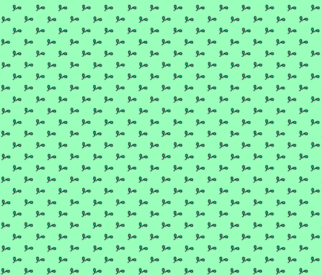 diagonal_leaf_pair_doodle fabric by victorialasher on Spoonflower - custom fabric