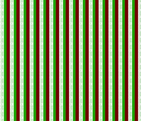 Holiday_Stripe fabric by cksstudio80 on Spoonflower - custom fabric