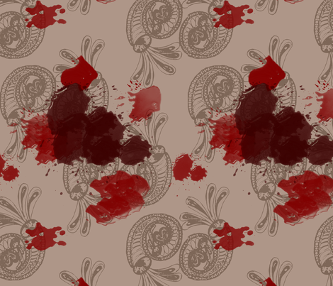 Vampire fabric by wiccked on Spoonflower - custom fabric
