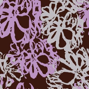 Lavender_Gray_Floral_on_Brown