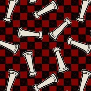Chessboard - White Rooks