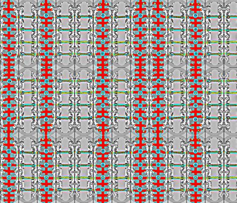 Steampunk III fabric by robin_rice on Spoonflower - custom fabric