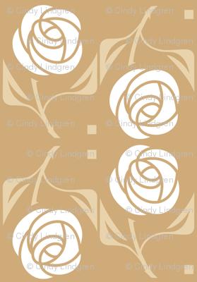 White Rose, tan