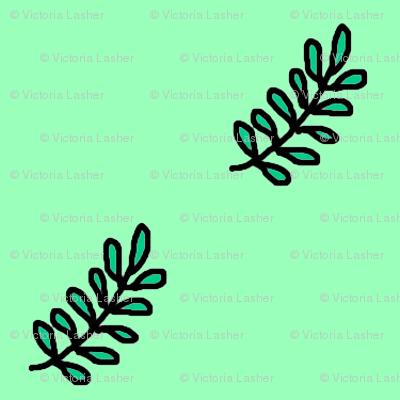 diagonal_green_fern_leaf_doodle_2