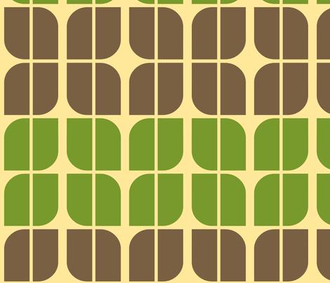 motoflower_retro fabric by holli_zollinger on Spoonflower - custom fabric