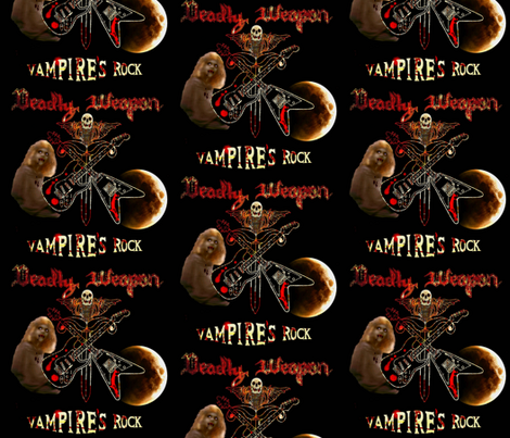 DW Vamp's fabric by paragonstudios on Spoonflower - custom fabric