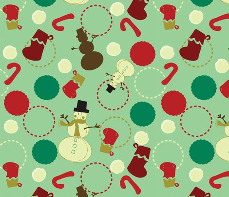 Christmas Jubilee fabric by sbd on Spoonflower - custom fabric