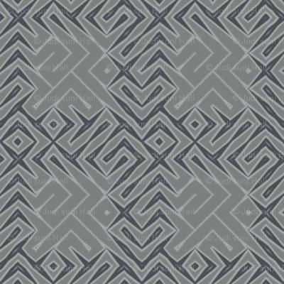 Grey Zones Plaid © 2009 Gingezel Inc.