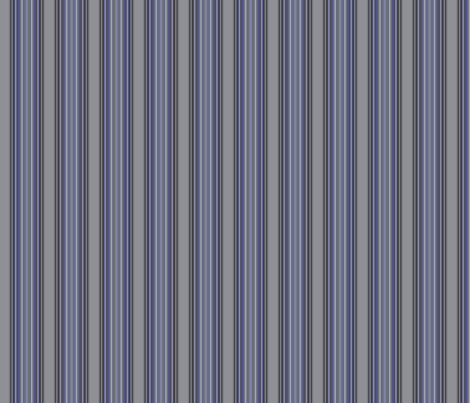 Grey Zones Stripe in Lapis Blue small © 2009 Gingezel Inc. fabric by gingezel on Spoonflower - custom fabric