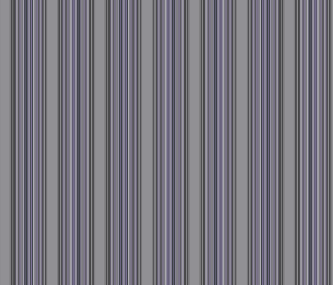 Grey Zones Stripe in Amethyst Purple Large © 2009 Gingezel Inc. fabric by gingezel on Spoonflower - custom fabric