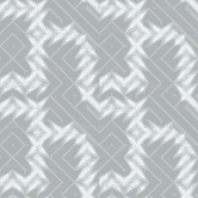 Grey Zones Houndstooth Plaid © 2009 Gingezel Inc.