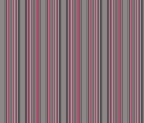 Grey Zones Stripe in Cherry Quartz large © 2009 Gingezel Inc. fabric by gingezel on Spoonflower - custom fabric