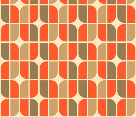 four leaf metro fabric by holli_zollinger on Spoonflower - custom fabric