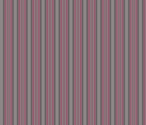 Grey Zones Stripe in Cherry Quartz © 2009 Gingezel™ Inc. fabric by gingezel on Spoonflower - custom fabric