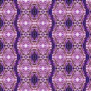 Wavy Lilac Stripe