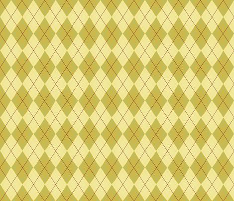 Argyle in Gold fabric by cathyheckstudio on Spoonflower - custom fabric