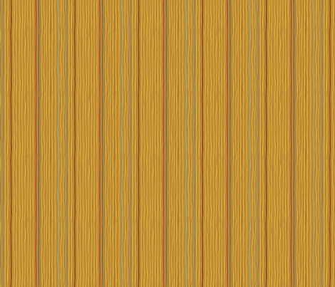 Downpour Stripe in Gold fabric by cathyheckstudio on Spoonflower - custom fabric