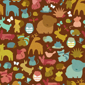 Forest Friendlies in Bark