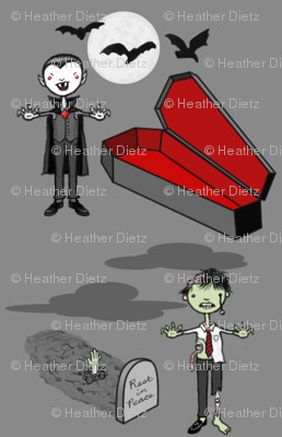 Vampire, meet Zombie