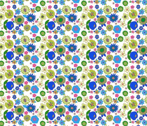fleur pop S fabric by nadja_petremand on Spoonflower - custom fabric