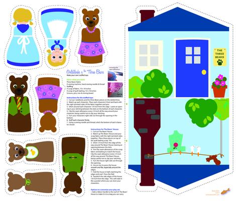 Goldilocks Kit  - Make your own fabric by beckarahn on Spoonflower - custom fabric