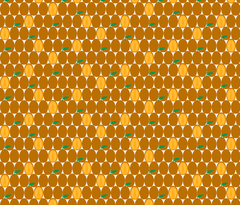 kumquat slice fabric by amybethunephotography on Spoonflower - custom fabric