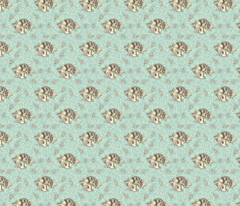 Piscis  fabric by raul on Spoonflower - custom fabric
