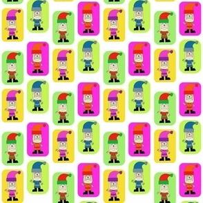 CurlyPops - Technicolour Santa
