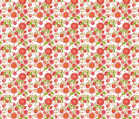 fleur_d_orient_rouge_n fabric by nadja_petremand on Spoonflower - custom fabric