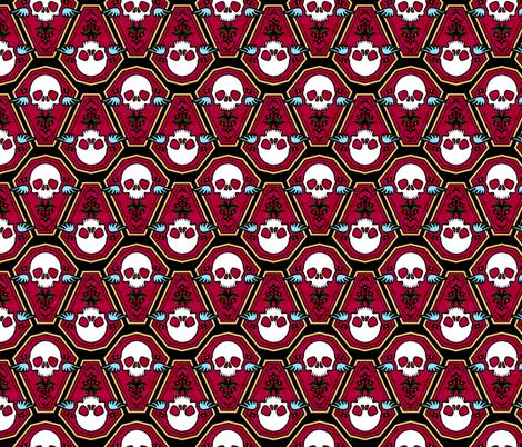 Casket 1 fabric by jadegordon on Spoonflower - custom fabric