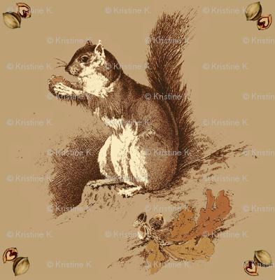 Hazel Squirrel