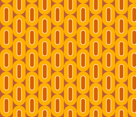folksong_citrus fabric by holli_zollinger on Spoonflower - custom fabric