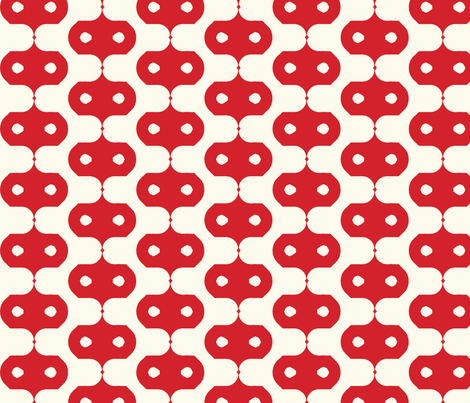 red_masks fabric by holli_zollinger on Spoonflower - custom fabric