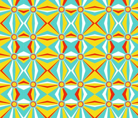 retro fabric by printablecrush on Spoonflower - custom fabric