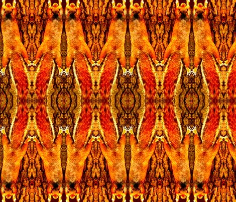 Sun Salutation fabric by robin_rice on Spoonflower - custom fabric