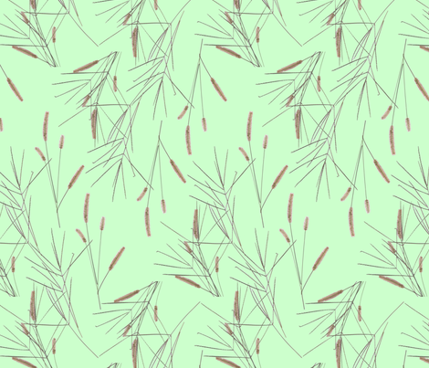 grasses_2 fabric by victorialasher on Spoonflower - custom fabric