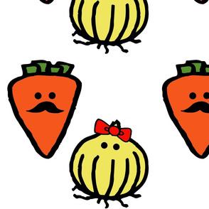 Senior and Seniorita Vegetables