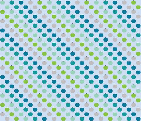 Apple Boys fabric by kaddy_w on Spoonflower - custom fabric