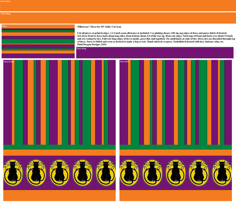 Cat Scan: Spooky fabric by plaiddragon on Spoonflower - custom fabric