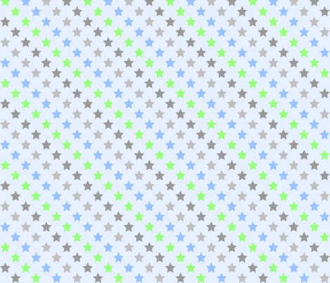 Stars on Ice fabric by kaddy_w on Spoonflower - custom fabric