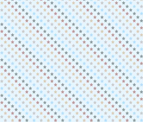 Stars fabric by kaddy_w on Spoonflower - custom fabric