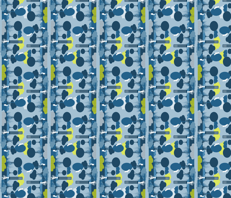 scene fabric by tangerinesamurai on Spoonflower - custom fabric