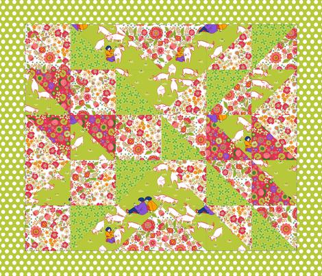 123_mouton fabric by nadja_petremand on Spoonflower - custom fabric