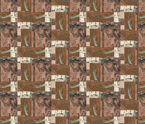 Opal-Birchbark Blox fabric by Clothdog on Spoonflower - custom fabric