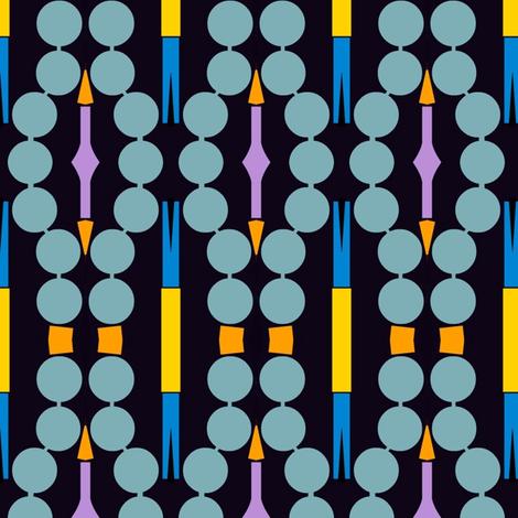 Mod Chaplet fabric by boris_thumbkin on Spoonflower - custom fabric